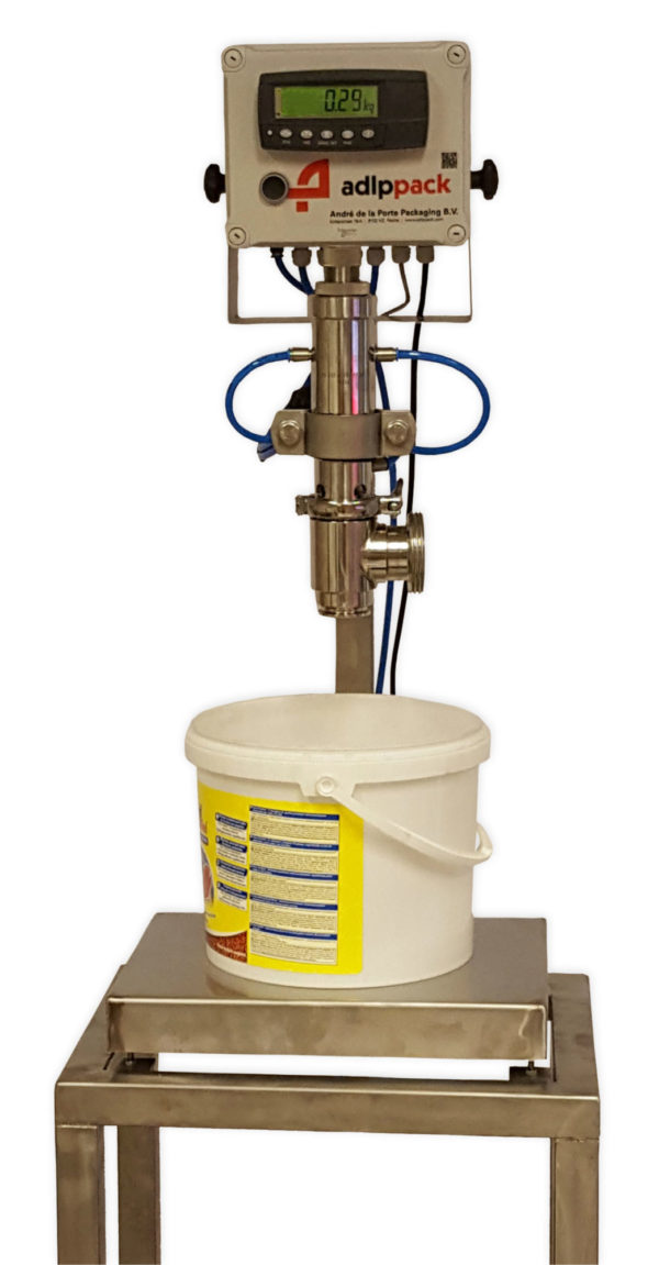 afvulmachine, vulmachine, gravimetrisch, vloeistoffen afvullen
