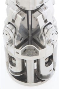 doppensluiter, doppendraaier, pilfer proof, roll on pilfer proof, sluitkop, aluminium doppen sluiten