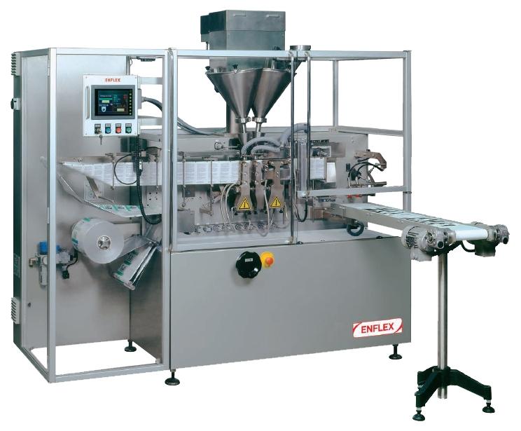 pouch machine, volpak, flat sachet, vulmachine, pouch vulmachine, horizontale vulmachine