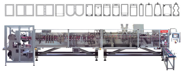 pouch machine, volpak, pouchmachine, horizontal machine, horizontale machine